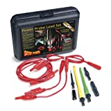 Power Probe Lead Set (PPLS01) [Car Diagnostic Test Tool, Self-Centering Piercing Probes, Super Flexible Multi-Strand Wires, Gold Plated Connectors]