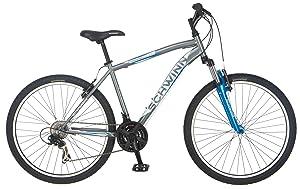 Schwinn Men's High-Timber, Mountain Bike, Grey, Medium