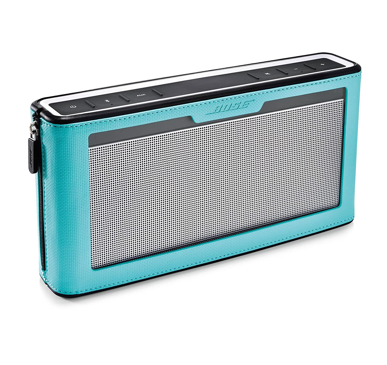 Bose SoundLink III Bluetooth Speaker with Soft Cover Bundle (Blue) bose soundlink bluetooth speaker iii