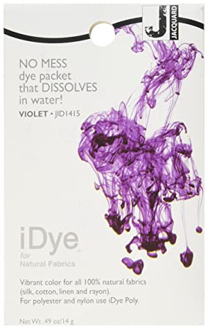 Jacquard iDye Fabric Dye 14 Grams-Violet (Color: Violet)