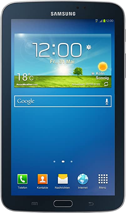 "Samsung SM-T2110MKADBT Tablette tactile 7"" (17,78 cm) ARM Cortex-A9 1,2 GHz 8 Go Android Wi-Fi Noir"