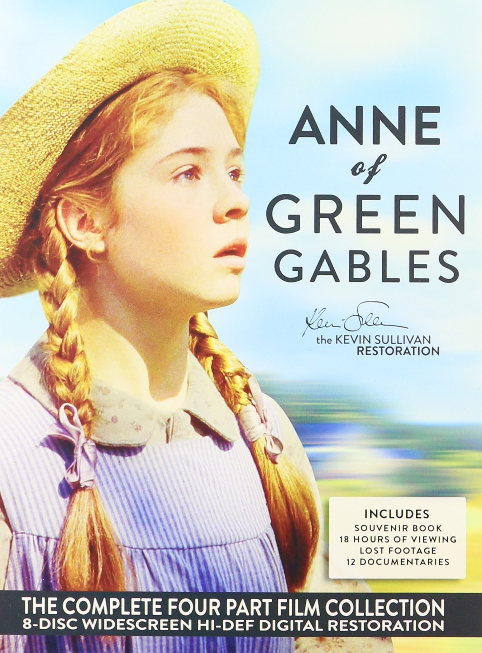 Anne Of Green Gables Remastered Complete Box Dvd Set