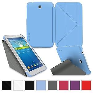 rooCASE Samsung Galaxy Tab 3 7.0 7,0 Lite caso carcasas cubierta funda folio  Electrónica Revisión del cliente
