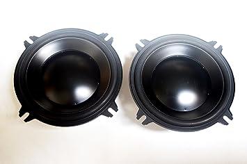 """Macrom 59.13, aimant Double midwoofer 5 """"(13cm), des composants séparés, Puissance admissible: 100 W Réponse en fréquence: 45 à 5000 Hz, Sensibilité (1W1m): 88dB, fréquence de résonance: 58 Hz,"""