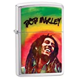 Personalized Message Engraved Customized Bob Marley Zippo Indoor Outdoor Windproof Lighter (Style11) (Color: Multi)