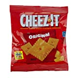Cheez-It Original Baked Snack Cheese Crackers, 1.5 Ounce Snack Packs, 60 Count