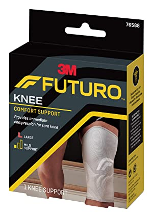 Futuro Comfort Lift Knee Support, Large (Tamaño: Large)