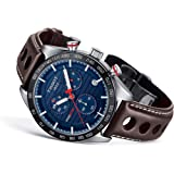 TISSOT PRS 516 Chronograph T100.417.16.041.00 (Color: Blue, Tamaño: Large)