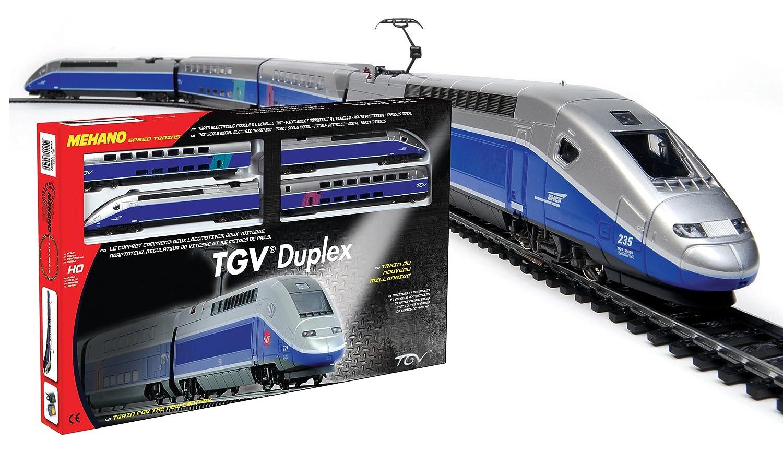 #B71419 Mehano T681 Modélisme Coffret De Train TGV Duplex  6083 decoration de noel train electrique 1500x866 px @ aertt.com