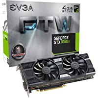EVGA GeForce GTX 1050 Ti FTW 4GB GDDR5 Gaming Graphic Cards + Rocket League Gift