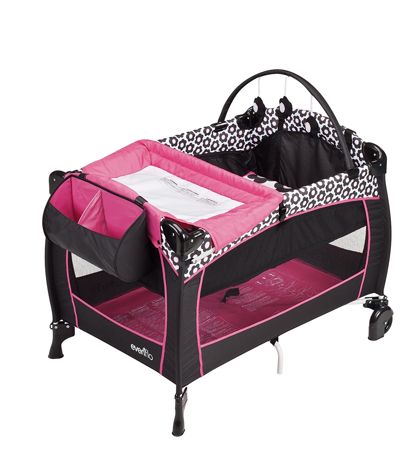 graco pack n play on the go travel playard baby gear and accessories. Black Bedroom Furniture Sets. Home Design Ideas
