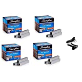Swingline Staples, Heavy Duty, 90-Sheet Capacity, 1/2 Length, 100/Strip, 5000/Box, 4 Boxes, 20000 Staples Total (79392) - Bundle Includes Universal Staple Remover (Tamaño: 4 Pack Bundle - 5000/Box)