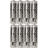 Moonrays 47740SP Rechargeable NiCd AA Batteries for Solar Powered Units, 8-Pack