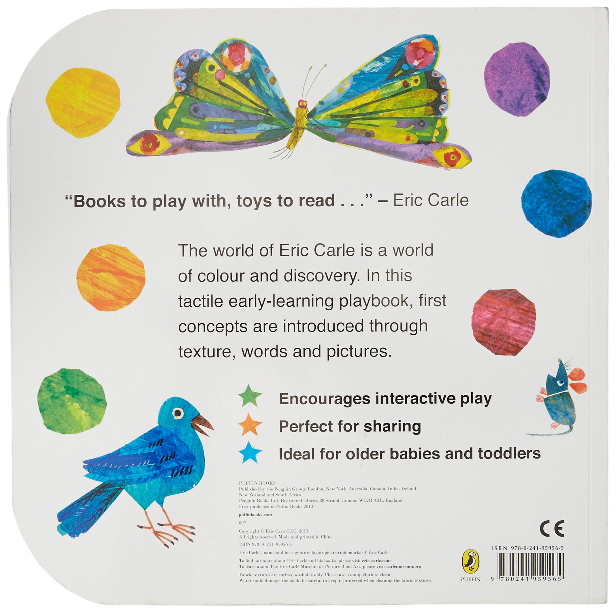 Buy Touch And Feel Playbook (the Very Hungry Caterpillar) Book Online At  Low Prices In India  Touch And Feel Playbook (the Very Hungry Caterpillar)  Reviews