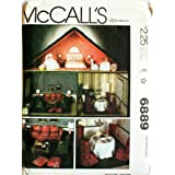 McCall's 6889 Dollhouse and Doll Furniture Sewing Pattern Vintage Craft
