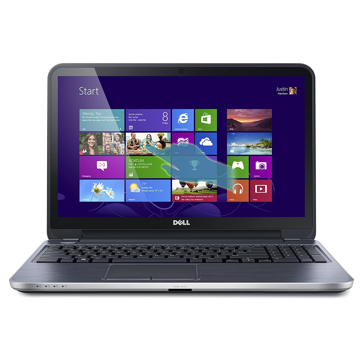 Dell Inspiron i15RMT-5124sLV 15.6-Inch Touchscreen Laptop