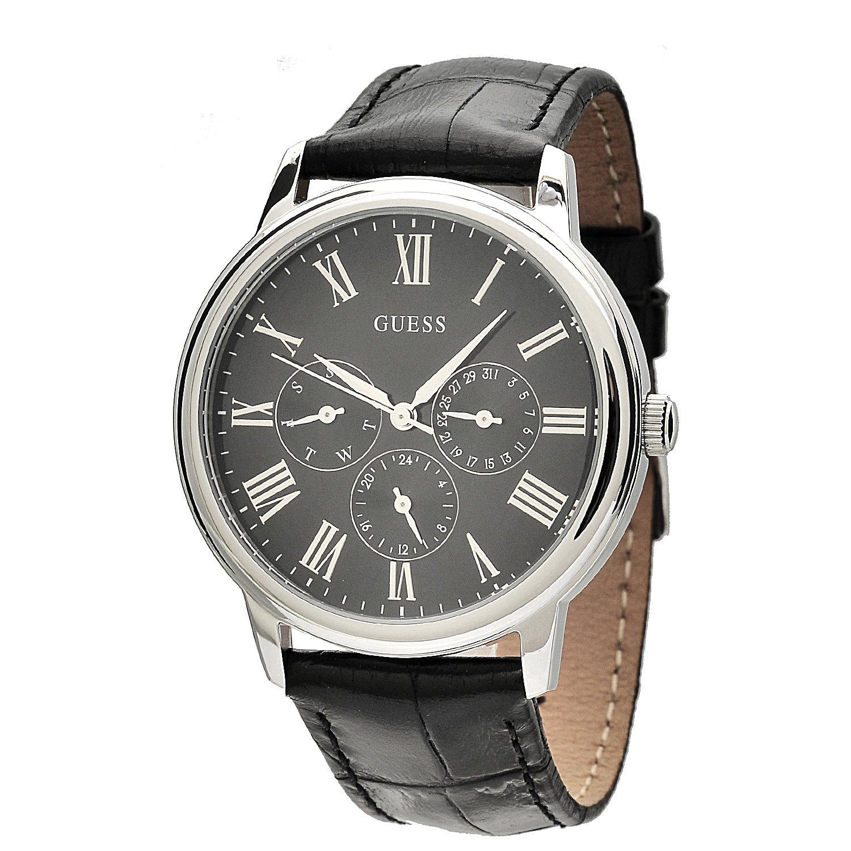 buy guess analog black dial men s watch w70016g1 online at low buy guess analog black dial men s watch w70016g1 online at low prices in amazon in