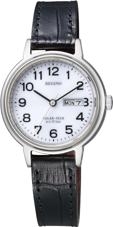 Amazon.co.jp: [シチズン]CITIZEN 腕時計 REGUNO レグノ ソーラーテック スタンダード ペア 10気圧防水 デイ&デイトモデル KH5-510-90 レディース: 腕時計通販