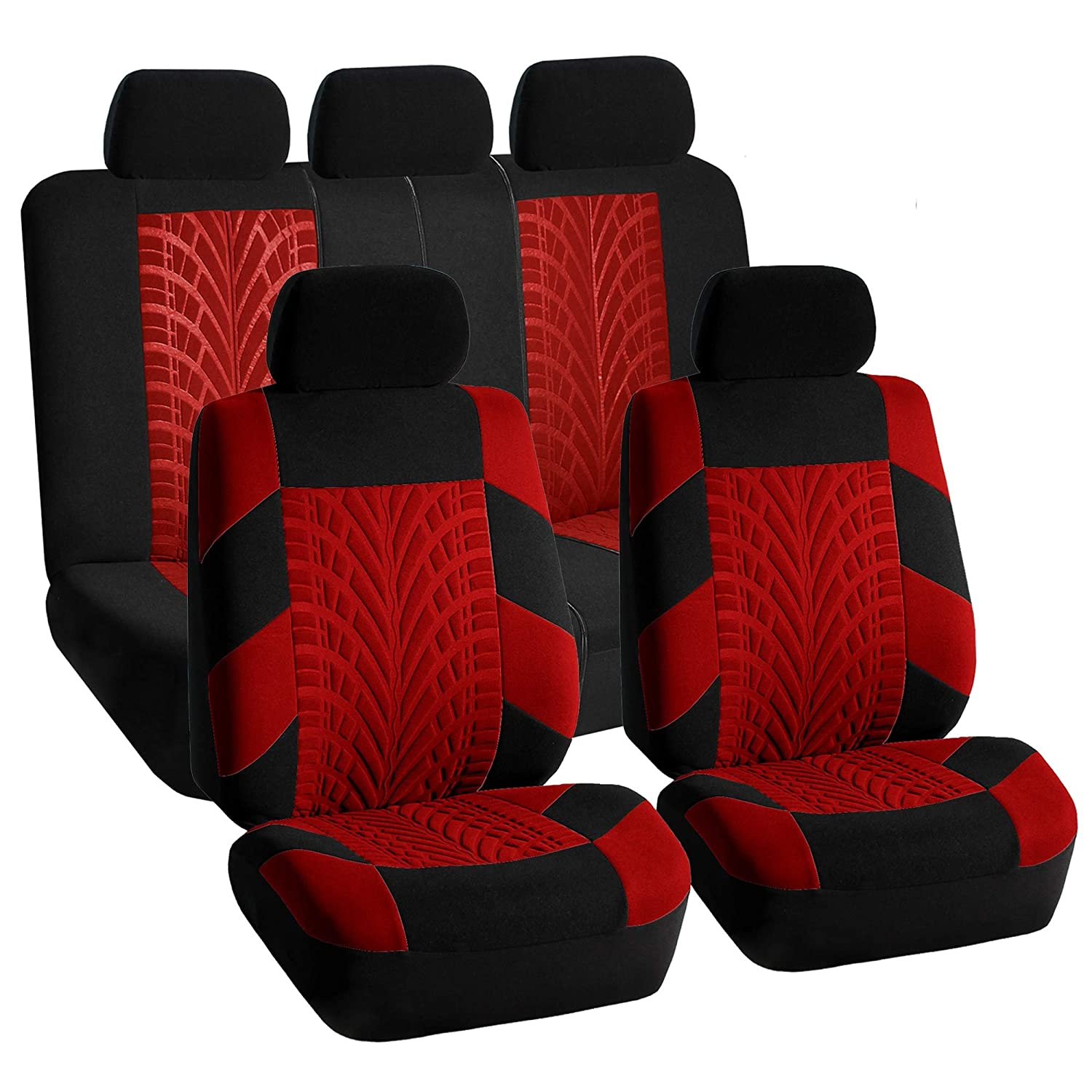 Sport Seat Covers Airbag Ready Rear Split For Car Truck