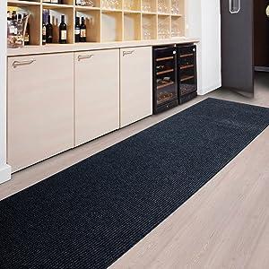 Floori Küchenläufer  9 Größen wählbar  100x1000cm, anthrazit   Rezension