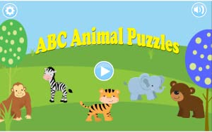 ABC Animal Puzzles by Bobo & Hambone games