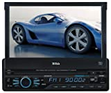 Boss Audio BV9967BI DVD Player with Single-DIN 7-Inch Touchscreen TFT Monitor and AM/FM Receiver