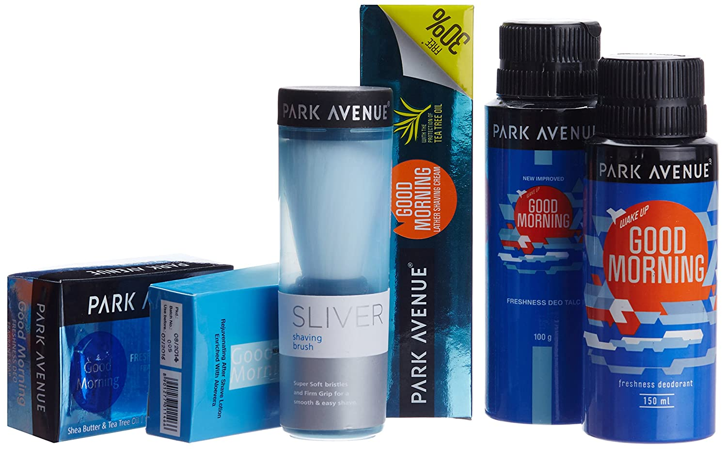 Park Avenue Good Morning Grooming Kit + Travel Pouch Free