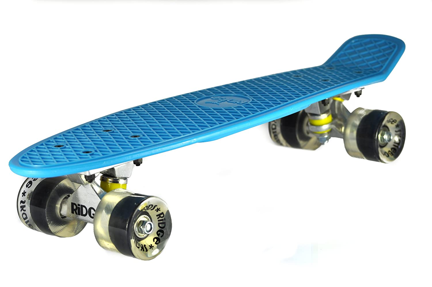 Ridge Skateboard 55 cm Mini Cruiser Retro