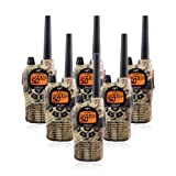 Midland GXT1050VP4 36-Mile JIS4 Waterproof 50-Channel FRS/GMRS Two-Way Camo Radio (6 Pack) (Tamaño: 6 Pack)