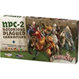 CMON Zombicide: Black Plague Notorius Plagued Characters 2 Board Game (Color: Black)