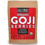 Organic Goji Berries - 32oz Resealable Bag - 100% Raw From Ningxia - by Feel Good Organics (Tamaño: 32 Ounce (907g))
