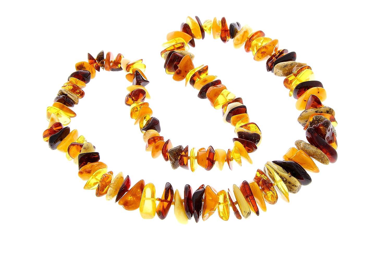 SilverAmber - Damen - Echte Baltischen Bernstein Halskette -NE0131