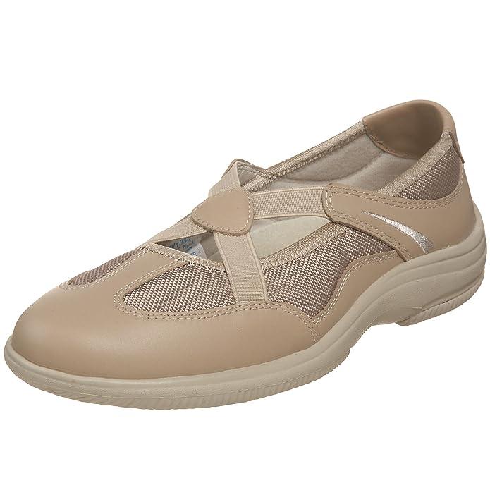 Propet Women's Sapphire Sneaker,Sand,8 N US