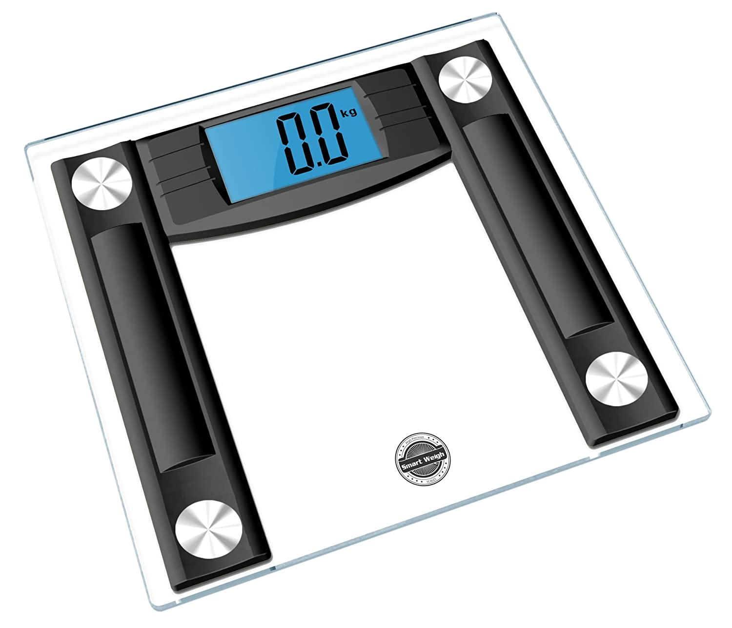 Smart Weigh Dvs400 Digital Glass Bathroom Scale Best