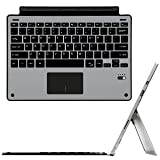 Surface Pro 6 / Surface Pro 5 / Pro 4 / Pro 3 Type Cover, ZAMO Ultra-Slim Wireless Bluetooth Keyboard with Trackpad, Surface Keyboard Built-in Rechargeable Battery (Color: keyboard 2)