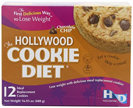 Отзывы Hollywood Cookie Diet Meal Replacement Cookies