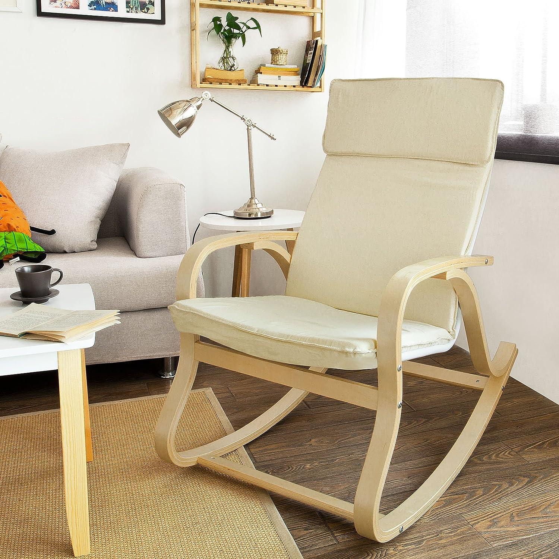 fauteuil adulte pour chambre bb fauteuil fauteuil bascule rocking chair avec reposepieds with. Black Bedroom Furniture Sets. Home Design Ideas