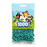 Perler Beads Fuse Beads for Crafts, 1000pcs, Parrot Green (Color: Parrot Green)