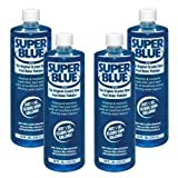 Robarb 20154A-04 Super Swimming Pool Clarifier, 1-Quart, Blue, 4-Pack