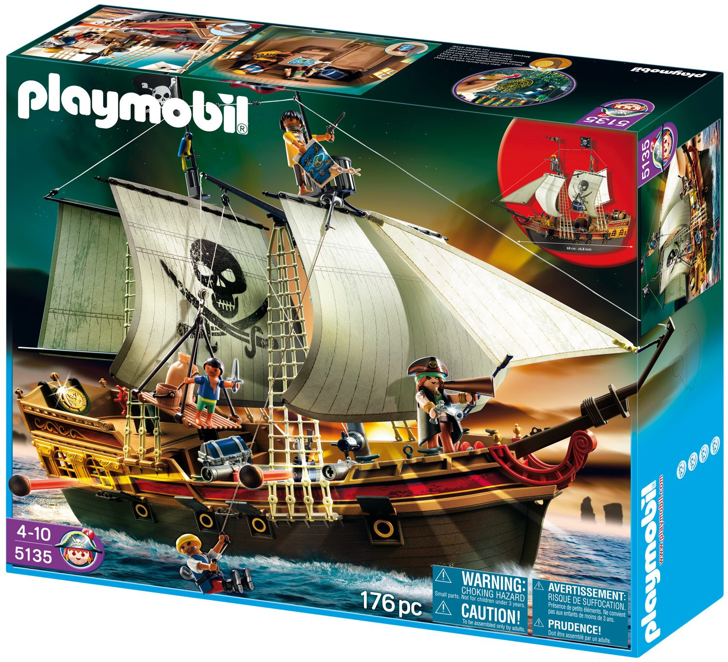 PLAYMOBIL® Piraten-Beuteschiff (5135)