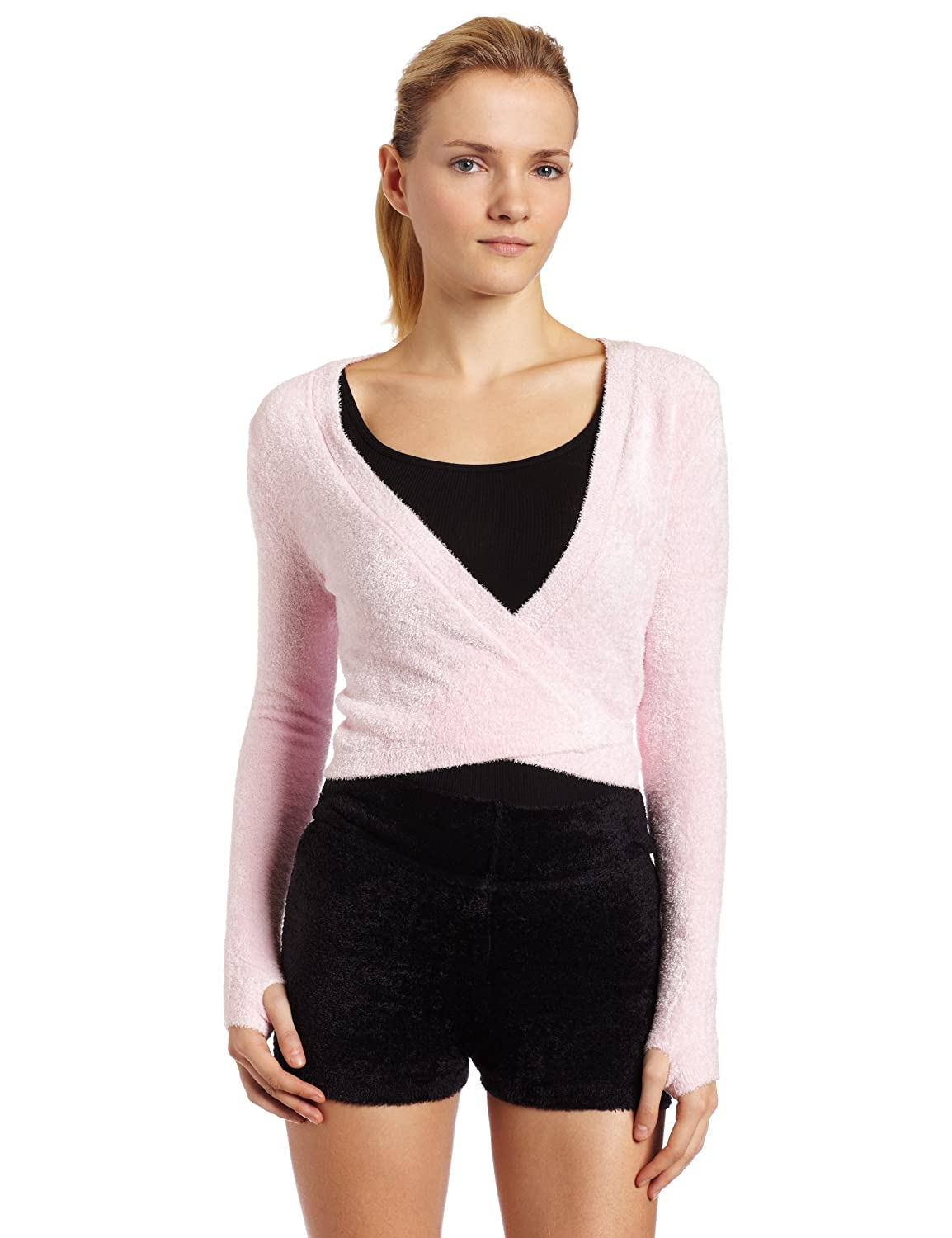 Harmonie Womens Wrap Sweater