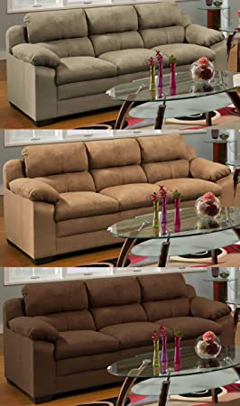 Simmons Upholstery 5068 Velocity Sofa Espresso