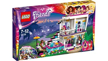 LEGO Friends - 41135 - La Maison De La Pop Star Livi
