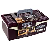 HERSHEY'S 01211HSY S'Mores Caddy with Tray, Brown (Color: Brown, Tamaño: Candy with Tray)