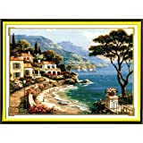 Joy Sunday Cross Stitch Kits 14CT Counted Harbor of Love 24.8