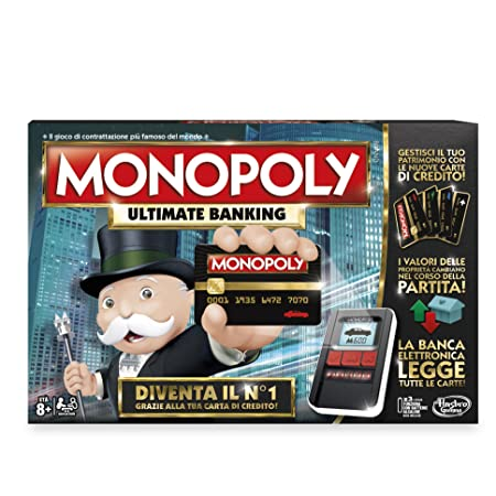 Hasbro Gaming Ultimate Jeu Monopoly Banking [année 2016]