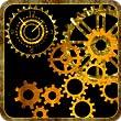 Mechanical Gear Clock Live Wallpaper