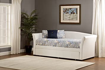 Montgomery Daybed Accessories: Trundle, Color: White