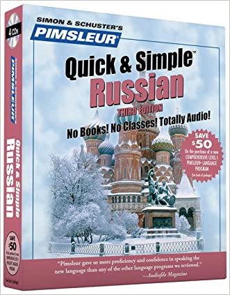 Pimsleur Russian Quick & Simple Course - Level 1 Lessons 1-8 CD: Learn to Speak and Understand Russian with Pimsleur Language Programs written by Paul Pimsleur