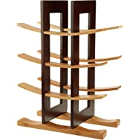 Anchor Hocking Bamboo Wine Rack